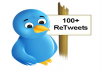 add 100 Retweets, Followers and Favorites To your twitter account and link