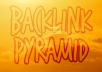 create Eminent Backlink Pyramid with 5000 Profiles, 80% dofollow publicly viewable and include some edu-gov, good seo for youtube by using xrumer senuke scrapebox