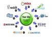 manually create 10 high quality, PR 8 and 9 backlinks for your website, including 5 edu