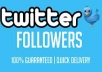 give 5000+ Unique PERMANENT Twitter Followers Fast Within 20 Hours**