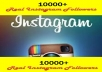 get you 10,000+ Instagram Followers to your Instagram Account, super fast