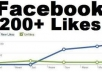 give you 225 +++ plus Facebook likes , followers, post share, post likes  with in 24 hrs..,,,,