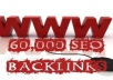 give the Absolute Best Quality 60000++ Instant Verified Live Seo BACKLINKS from 7000+ Unique Domains to your website 
