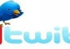 give You Instant 35,000 Twitter Followers, No Eggs, No Unfollows, without admin access for