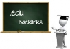 create 200 Edu backlinks and 1000 PR8 to PR2  Wiki Backlinks from highly Authorative wiki domains.