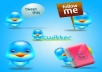 provide you 77 real Twitter Followers within 3 days  for