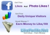 give you 750 to 7500pcs facebook likes as points on likeforme.net
