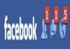 give you 115+ Facebook Likes, 100% real &amp; Genuine only