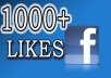 Give u 1000+ USA Stayng Facebook Fanpages Likes.