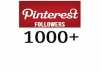add 1000+ Pinterest Followers without admin access within 24 hours