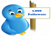 create 5 Twitter accounts each with over 1k followers