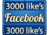 Provide 3000+ Real Fcebook likes