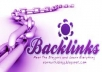WITH 200 general forum Backlinks and 300 wiki backlinks with proof:)