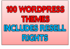 give you 100 amazing Wordpress Themes with RESELL RIGHTS