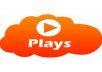 get you 100000 Soundcloud PLAYS Within 48 Hours To boost Your SoundCloud Tracks