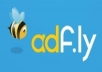 teach you how to make 100 dollars daily with adf.ly