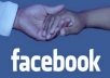[level 2] get You 3,000+ REAL Facebook Followers/Subscribers/Likes,Fanpage from my friends To Any Facebook Profile for