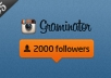 get you 2000 Instagram followers extremely fast without password.....!@
