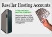Make a WebHosting Reseller Site For You with unlimited Hosting Just