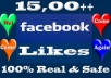  send you 1500 100% REAL Facebook Fan Page Likes [No Bots] in less than 36 hours 