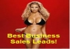 Give You 50 New Sales Leads From Facebook And 25 From LinkedIn Related To Your Niche Audience