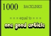 write 1000 words super SEO article for your website with high degree of keywords optimization
