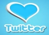 add 15000+ Twitter follower to your any twitter account within 40 hours