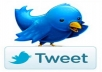 get 350 different Tweet or Retweets from 350 real and genuine twitter accounts having numerous followers only
