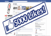 send you 4000+ Top Quality Real Human Active FACEBOOK likes To You Page, Only Genuine And Active Fans With Photos And Friends, Order Now
