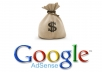 approve your Google Adsense account