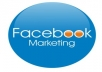 will promote your website URL or any link with promotional message to my real and active Facebook groups and fans with over 2300000 members