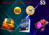 Make Your Ebook Cover with 3D Style