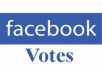 500 real facebook votes/likes