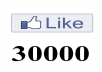 Provide 30000+ Real FACEBOOK Likes to your Facebook FanPage without Admin access for