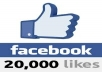 Get you 20000 20k [Permenent] Facebook Likes To Your Fanpage