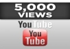 give You 5000+Very quick YOUTUBE Views In Less Then ninety six Hour 