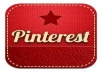 give you 225  Pinterest Followers, 100% Real