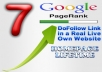 place your link on my PR7 Homepage dofollow blogroll sitewide backlink to boost your website