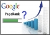 Increase Your Ranking In Google By 75 Percent  With 356 High PR Forum Backlinks, 10 Social Bookmarks Plus 3,000 Search Engine Index Entries For Ranking Popularity