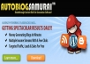 Give you my autoblogsamurai licensed , a great money generating available online