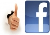 give you Real & active 787+ Facebook Likes on you website