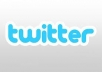 give you 510+40 twitter followers 100% real and safe for your account 100% manually done only