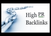 get you a PR 5 backlink