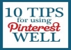   add 100+ Real Pinterest followers to your account for