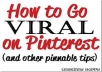 get free traffic from Pinterest 24/7 365 days a year to your real estate website for