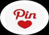 provide you with 50+ Pinterest followers, real active users and share on Twitter for