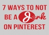 create 5 attractive boards with 50 PINs to your PINTEREST Profile for