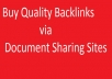 create/buy Quality PDF Backlinks