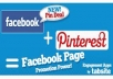 add Real 400+ Pinterest Followers without admin access within 48 hours for