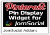 give invisible Pinterest Share Button Script for